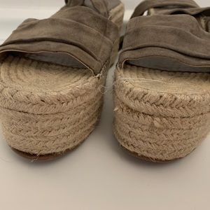 Marc fisher wedge espadrilles